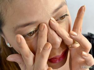 Bridge of nose Massage