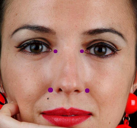 Acupressure points for healthy skin facial acupressure treatment acupressure for healthy skin solutioingenieria