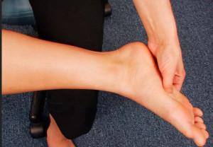 foot pressure points for headache