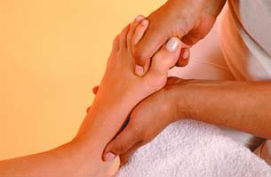 headache relief from reflexology