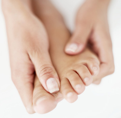 reflexology massage for foot