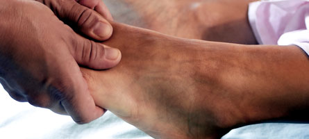 Acupressure Points to Cure Ankle problems