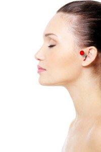 point upper ear