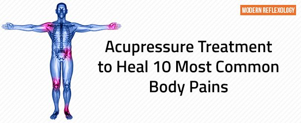 10 Best Acupressure Points to Treat Body Pains and Aches