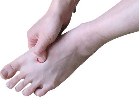 Lv3 acupressure point
