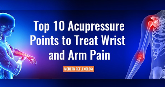 10 Healing Acupressure Points for Arm and Wrist Pain Relief