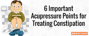 Important Acupressure Points for Treating Constipation