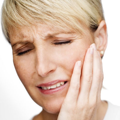 Facial pain from noise