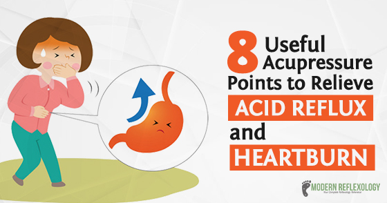 Acupressure Points To Treat Gastric Acid Reflux And Heartburn