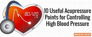 Useful Acupressure Points for Controlling High Blood Pressure