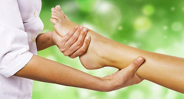 Reflexology just massages your foot