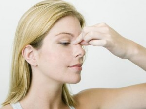 Reflexology Point for the Nose