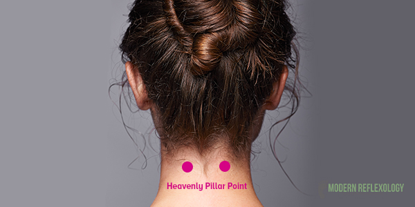 Heavenly Pillar (B 10) acupressure points