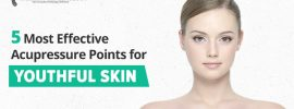 acupressure points for facelift - youthful skin
